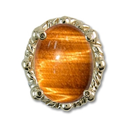 rl394 Tiger Eye Bracelet Slide