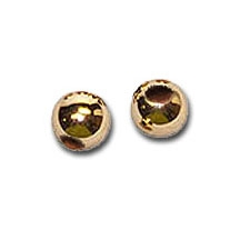 14K Gold Slide Spacer Beads 2 Quantity